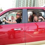 Tiffany drives an enthusiastic group of future Ram owners