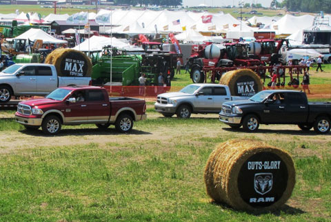 Ram Trucks at the Farm Progress Shows