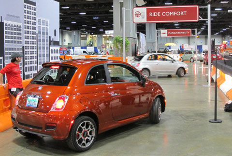 2013 FiatRide Washington DC Auto Show