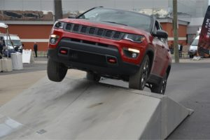 Jeep Compass, breakover - FCA Fleet Preview