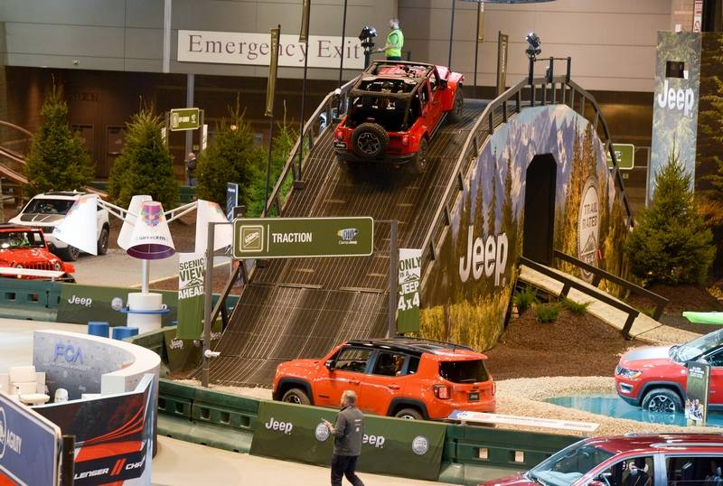 Camp Jeep – Chicago Auto Show