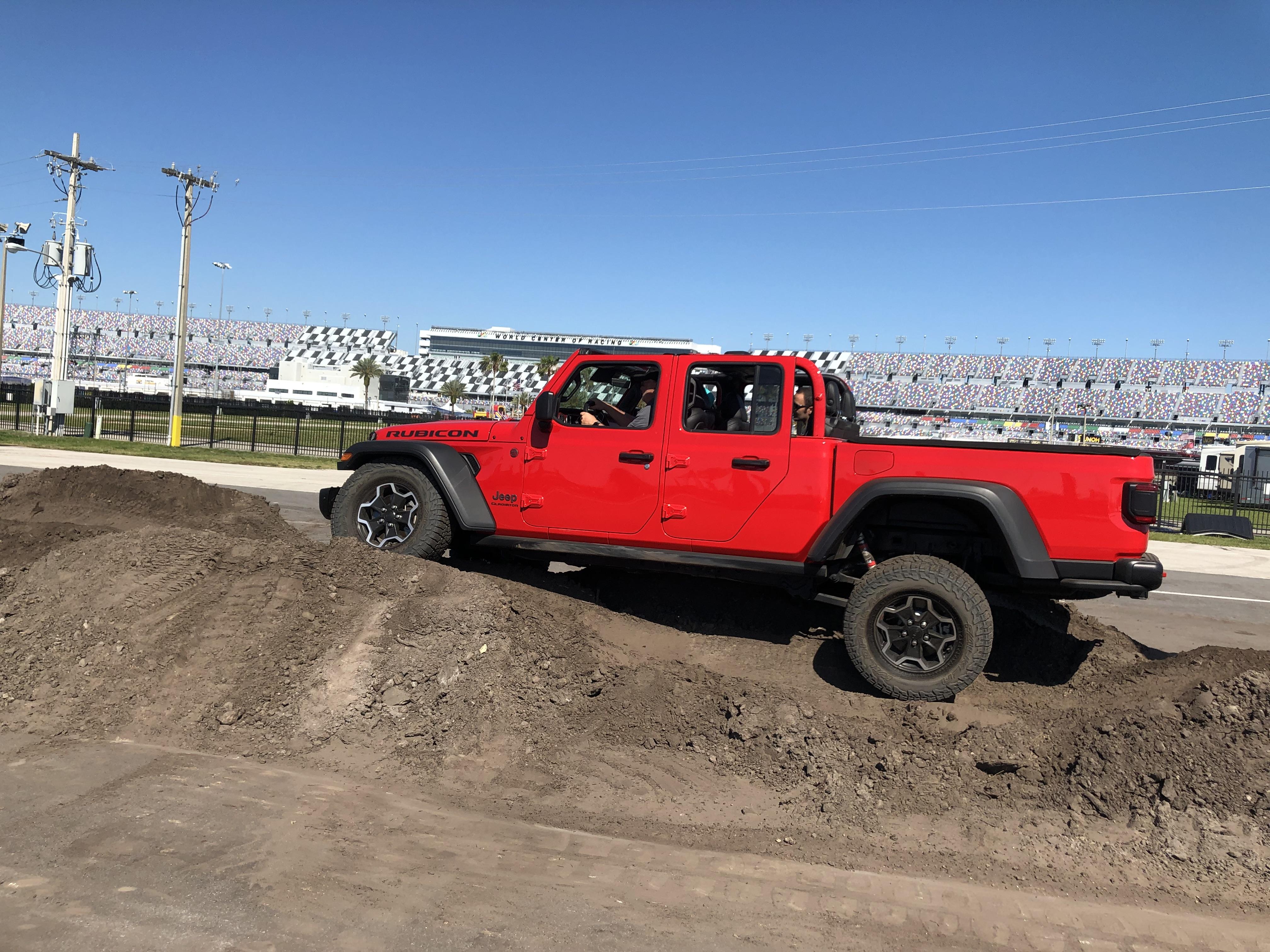 Jeep Off Road Course Event Management Logistics
