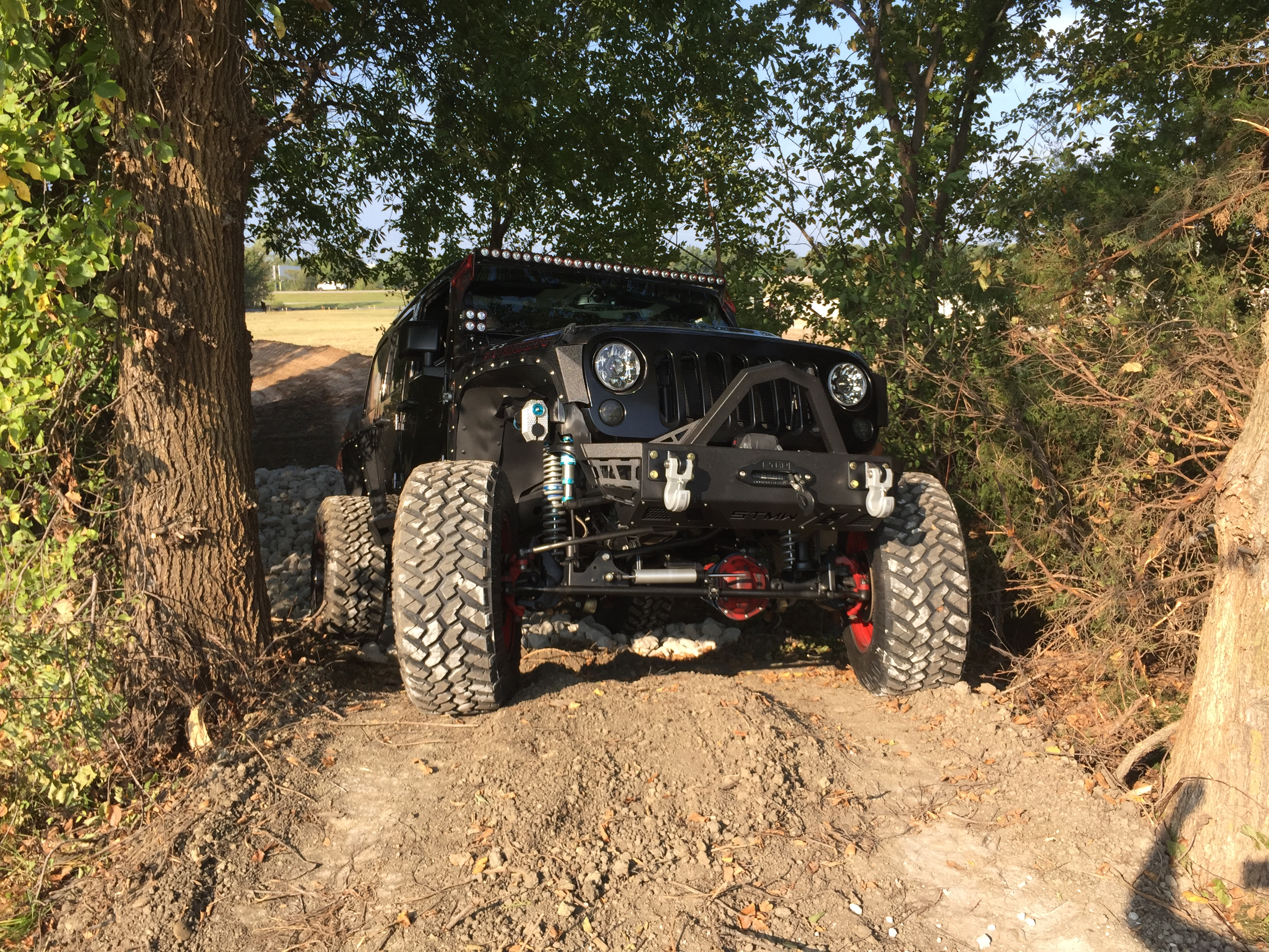 Gordinier Group builds off-road test drive course at Jim ...