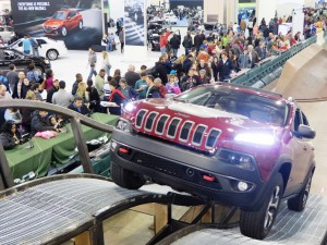 A new 2014 Cherokee tackles the Trail Rated Pass